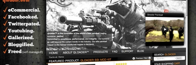 WordPress eCommerce Site: Paintball Giant Qloader.com