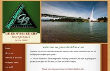 Redding General Building Contractor Construction Website