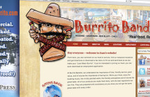 Burrito Bandito: Local Chain Restaurant WordPress Site