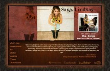 Singer-Songwriter Press Kit Website: Sara Lindsay Music